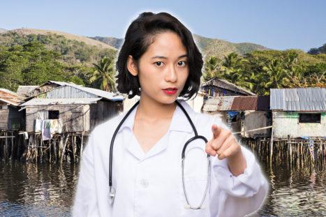 doctor sureste asiático