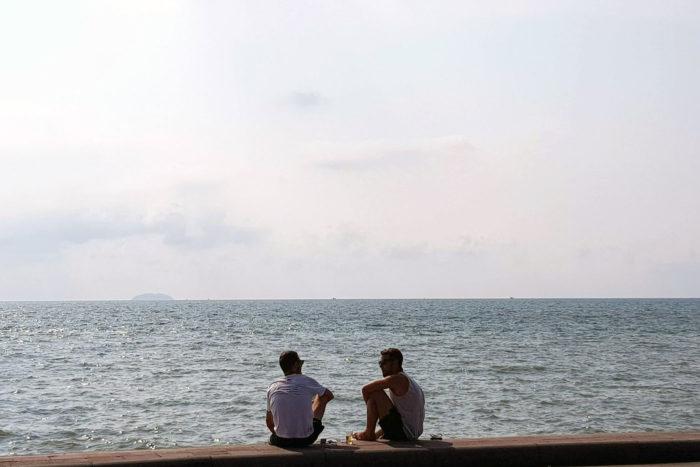 mar en Pattaya