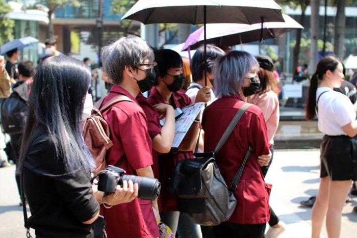 Festival Japón Tailandia disfraz