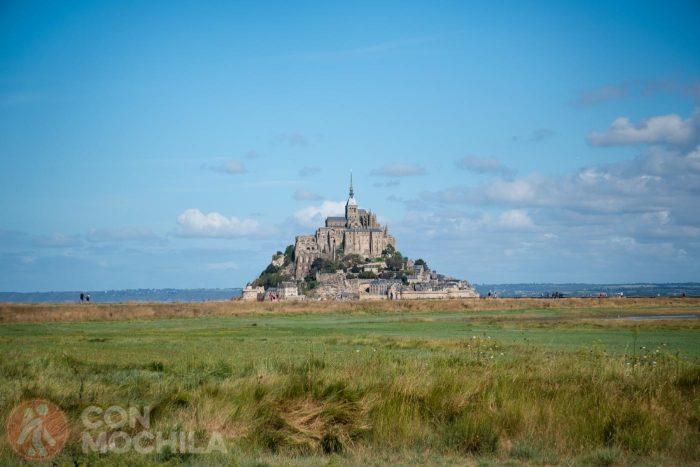 Parece que vamos llegando al Mont Saint Michel