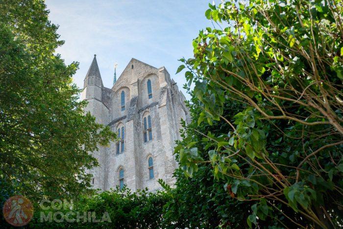 Otra perspectiva de la abadía