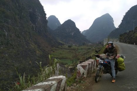 En moto por Vietnam