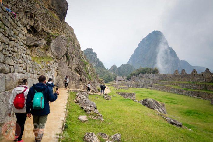 Turistas en el Machu Picchu