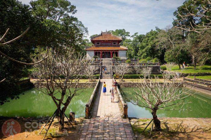 La tumba de Minh Mang