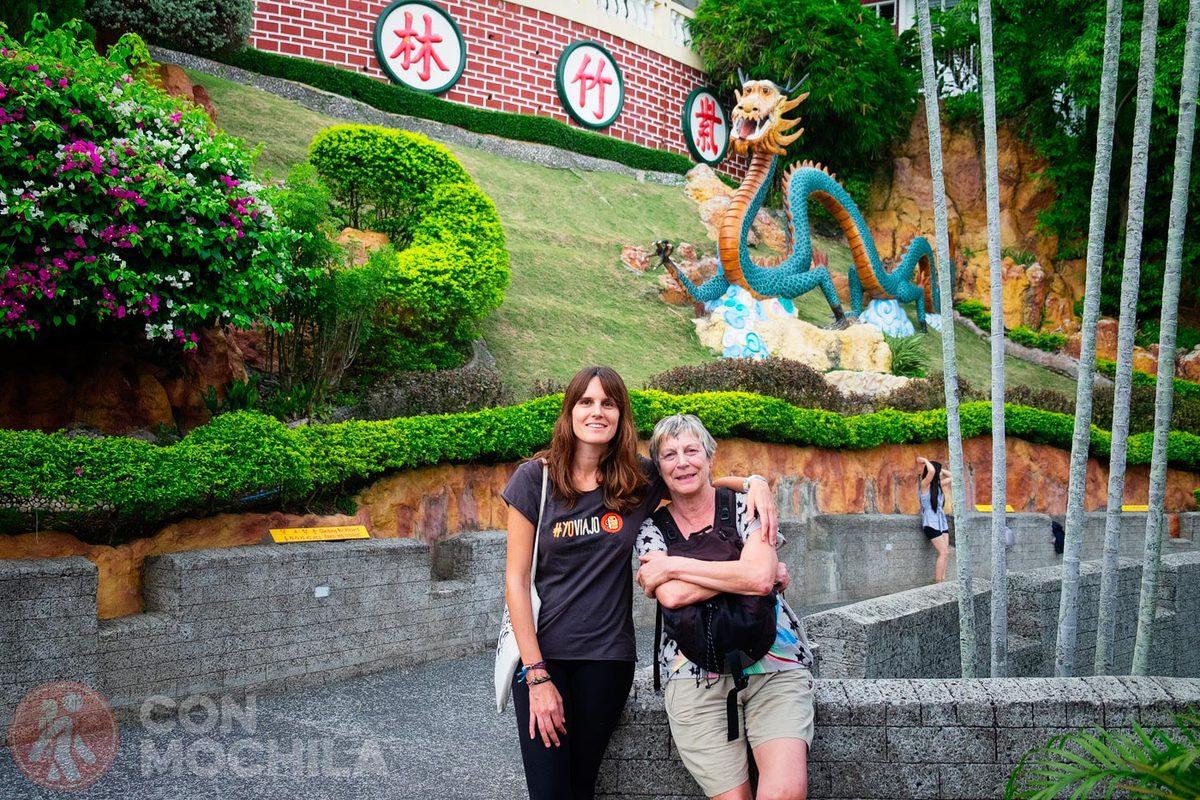 Reencuentro con mi madre en Manila