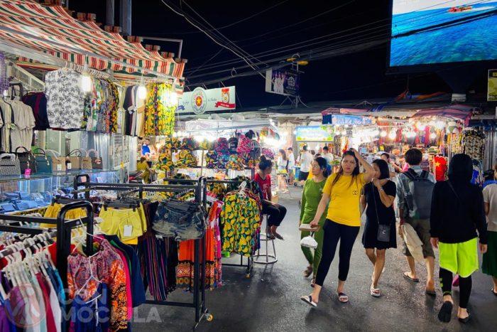 Paseo por el mercado
