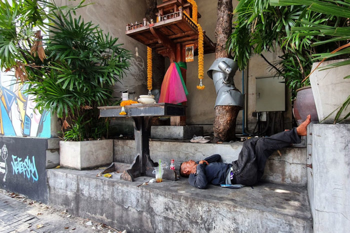 indigente bangkok