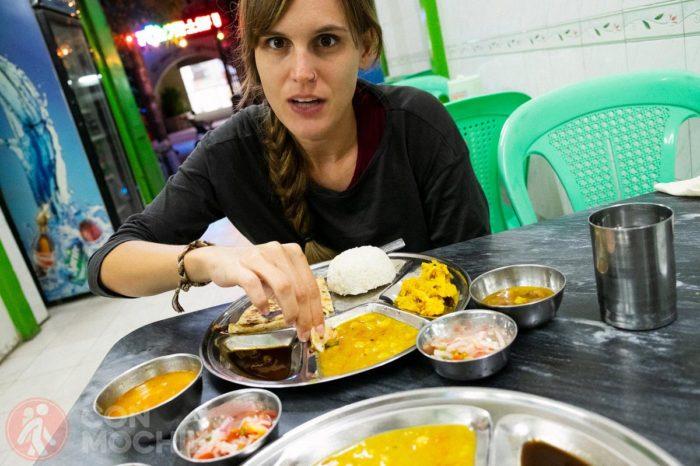 Porbando el thali en Mandalay,  Myanmar