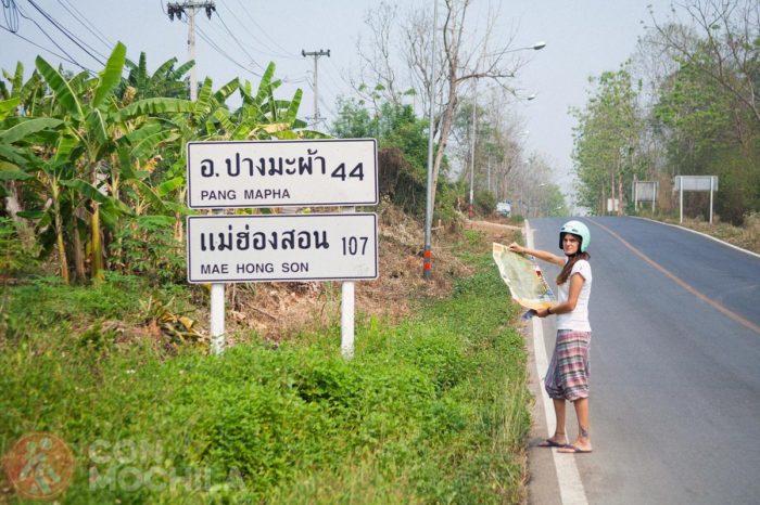 Perdidos por el norte de Tailandia