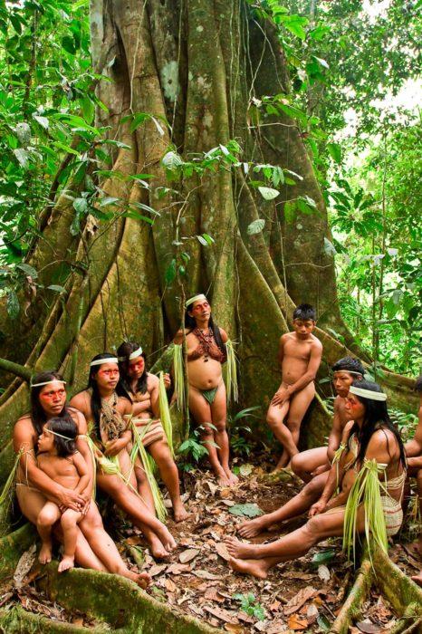 Huaoranis. Orellana, Ecuador
