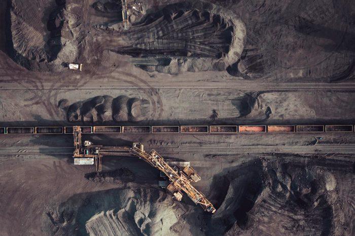 Extracción de carbón