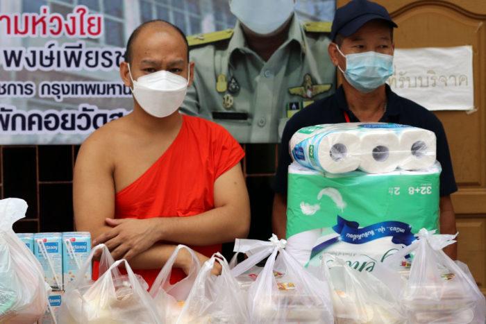 Templo Tailandia ayuda Covid